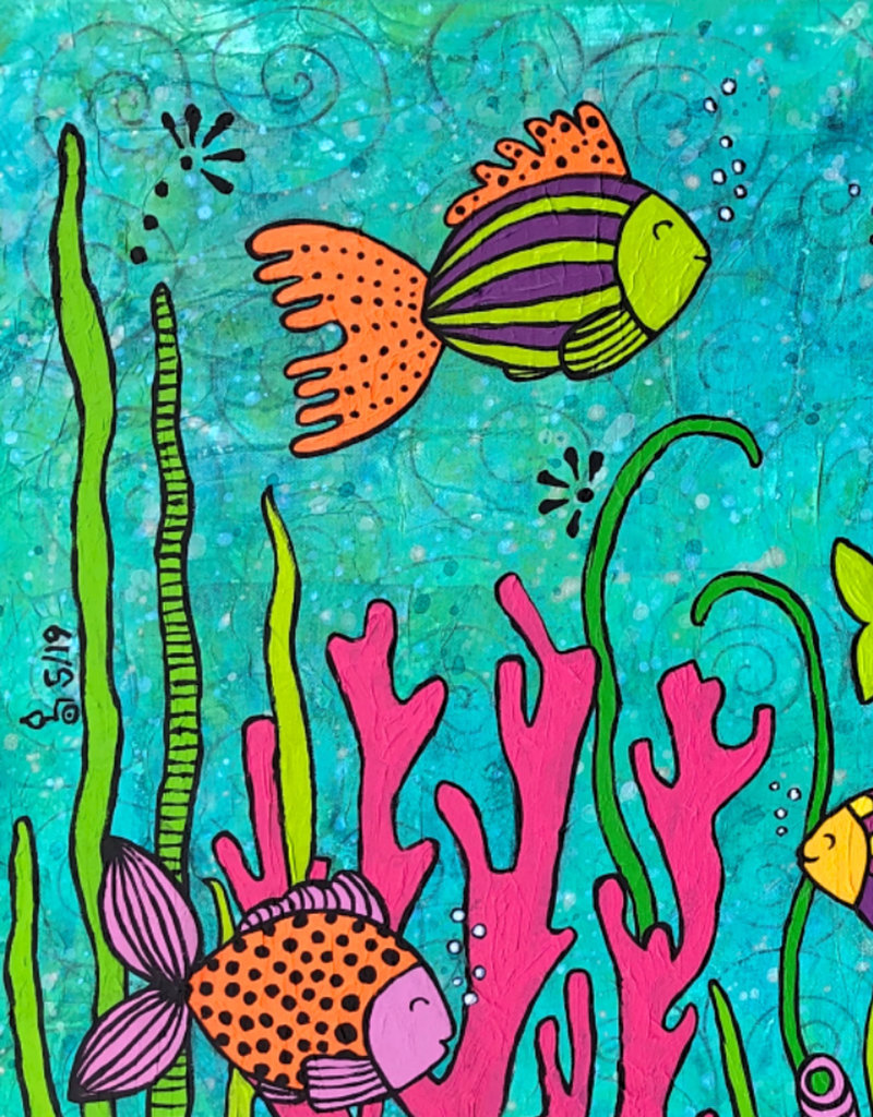 """Original Painting """"Hey Nemo"""""""