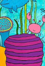 """Original Painting """"Crabtastic"""""""
