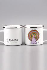 "Enamel Mug  big ""Buddha"""