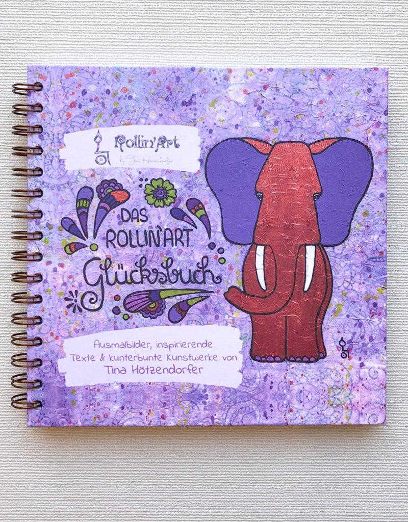 Das Rollin'Art Glücksbuch - Dein Tagebuch für mehr Achtsamkeit, Glück & Dankbarkeit