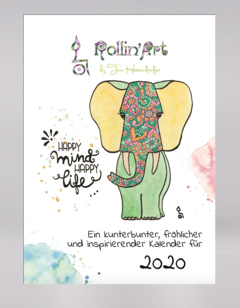 """Calender """"Rollin'Art 2020"""""""