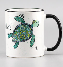 "Ceramic mug ""Chillkröte"""