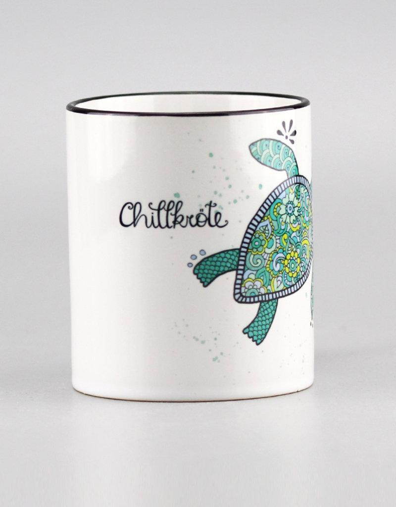 "Ceramic mug ""Chillkröte"""