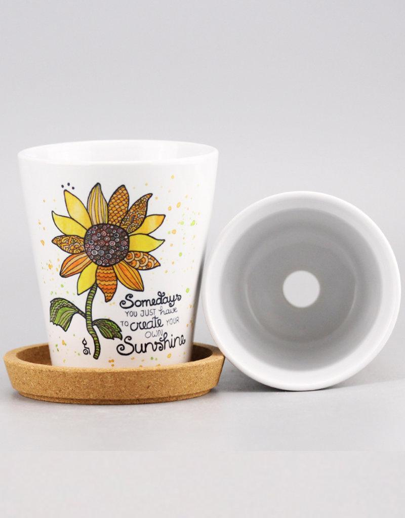 "Flowerpot ""Sunshine 20"""