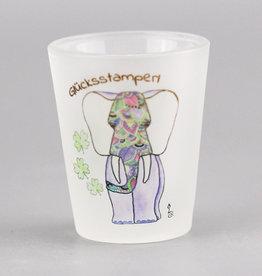 "Shot glass ""Glücksstamperl"""