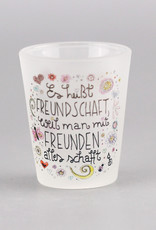 """Schnapsglas """"Freundschaft"""""""