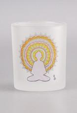 """Windlicht """"Buddha"""""""
