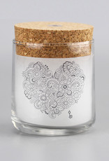 "Perfumed candle ""Herz"""