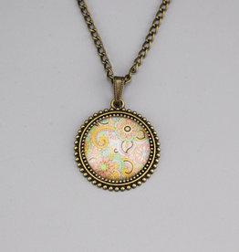 "Necklace ""Mehndi Pastell"""