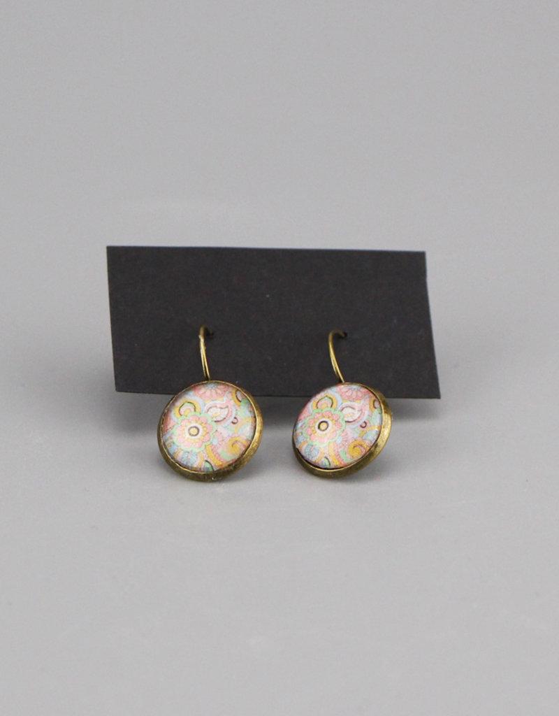 """Hanging earrings  """"Mehndi Pastell"""""""