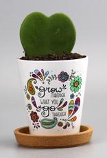 """Flowerpot """"Grow"""""""