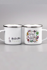 "Enamel mug ""Grow"""