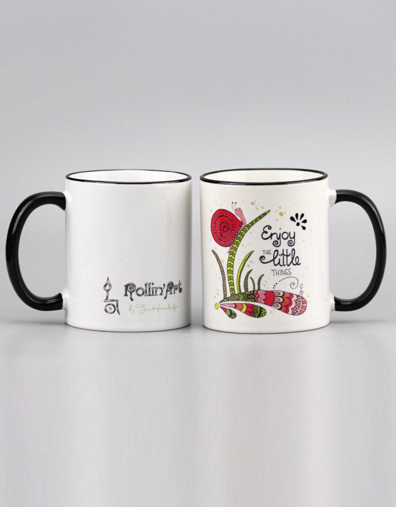 """Ceramic mug """"Schnecke"""""""