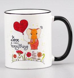"""Ceramic mug """"Love Fant"""""""