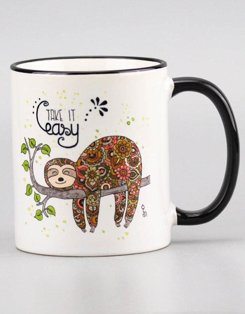 "Ceramic mug ""Fauli"""