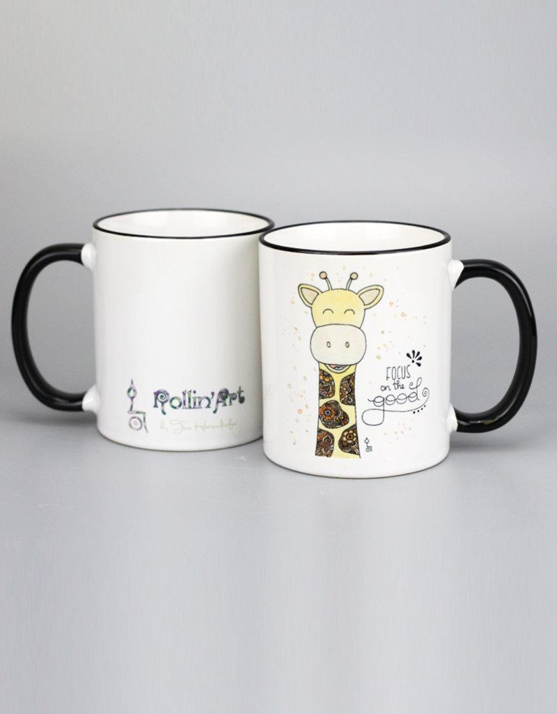 "Ceramic mug ""Giraffe"""