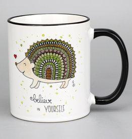 """Ceramic mug """"Igel"""""""