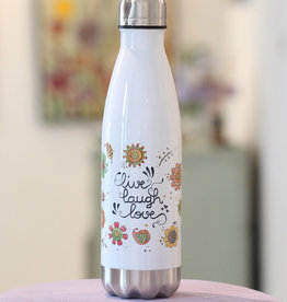 "Drinking bottle  ""Live - Laugh - Love"""