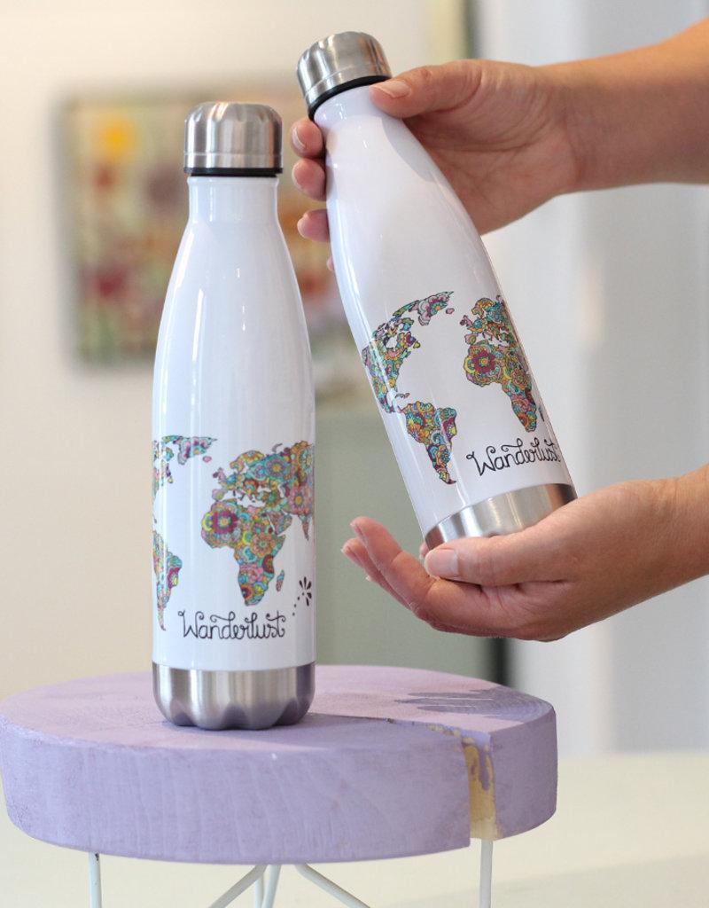 """Drinking bottle  """"Wanderlust"""""""