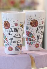 """Latte mug """"Enjoy - Biene"""""""