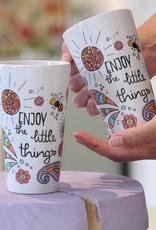 """Latte Tasse  """"Enjoy - Biene"""""""