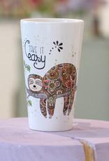 """Latte Tasse  """"Faultier"""""""