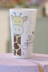 """Latte Tasse  """"Giraffe"""""""