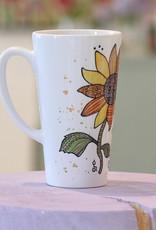 "Latte mug ""Sunshine"""