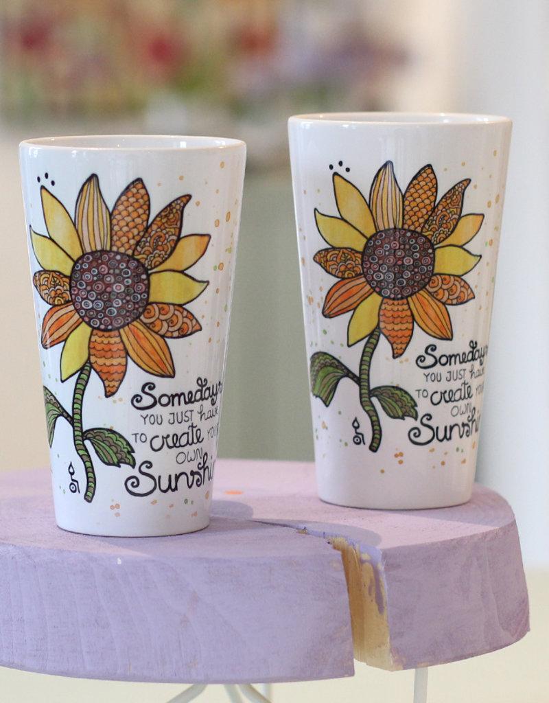 "Latte Tasse  ""Sunshine"""