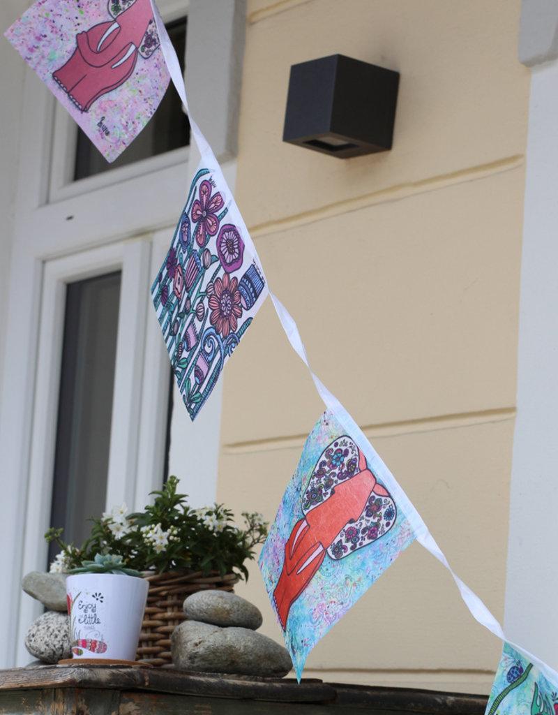 Inspiration flag Flowers