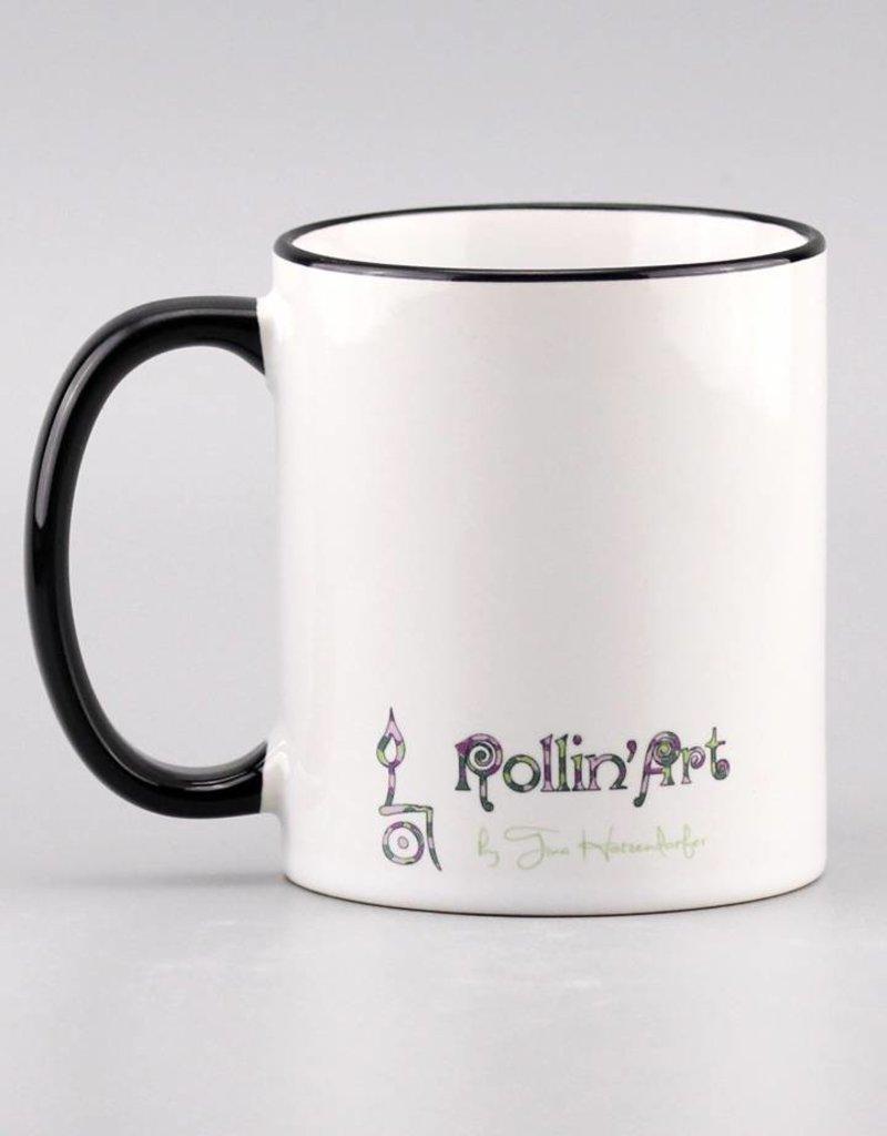 """Ceramic mug """"Welt verzaubern 20"""""""