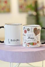 "Ceramic mug ""Allerbeste Mama"""