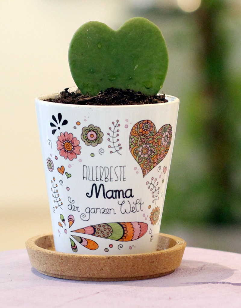 "Blumentopf ""Allerbeste Mama"""