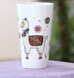 "Latte mug ""Alpaka"""