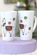 """Latte Tasse  """"Alpaka"""""""