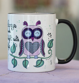"Ceramic mug ""Eule"""