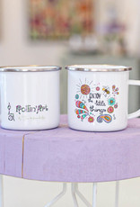 "Emaille Tasse ""Enjoy - Biene"""