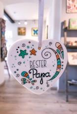 """Ceramic hanger """"dad"""""""