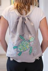 "Drawstring bag ""Chillkröte"""