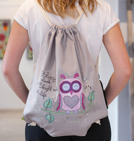 "Drawstring bag ""Owl"""