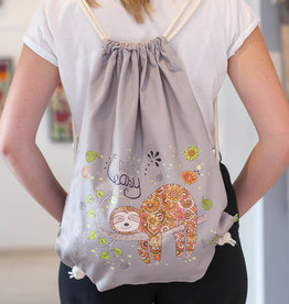 "Drawstring bag ""Sloth"""