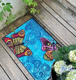 """Doormat """"Spread your Wings"""""""