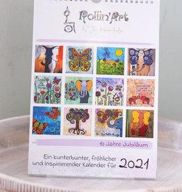 """Calender """"Rollin'Art 2021"""""""