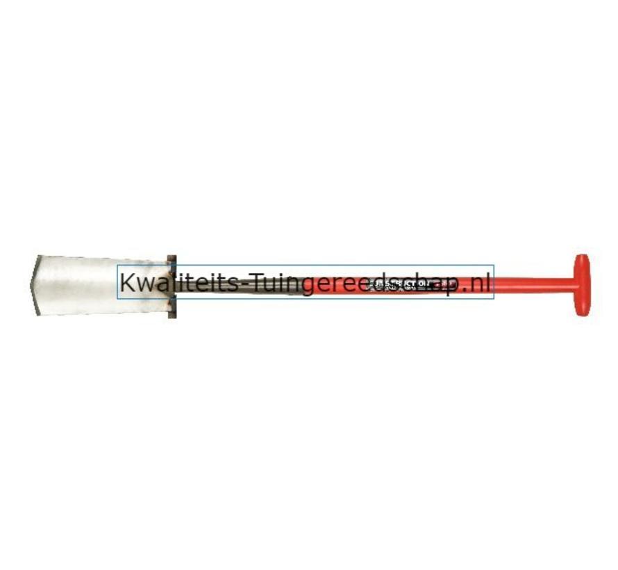 GESMEDE KABELSPADE ZWANENHALS POLET 320/135 2V  T -STEEL FIBER 5001