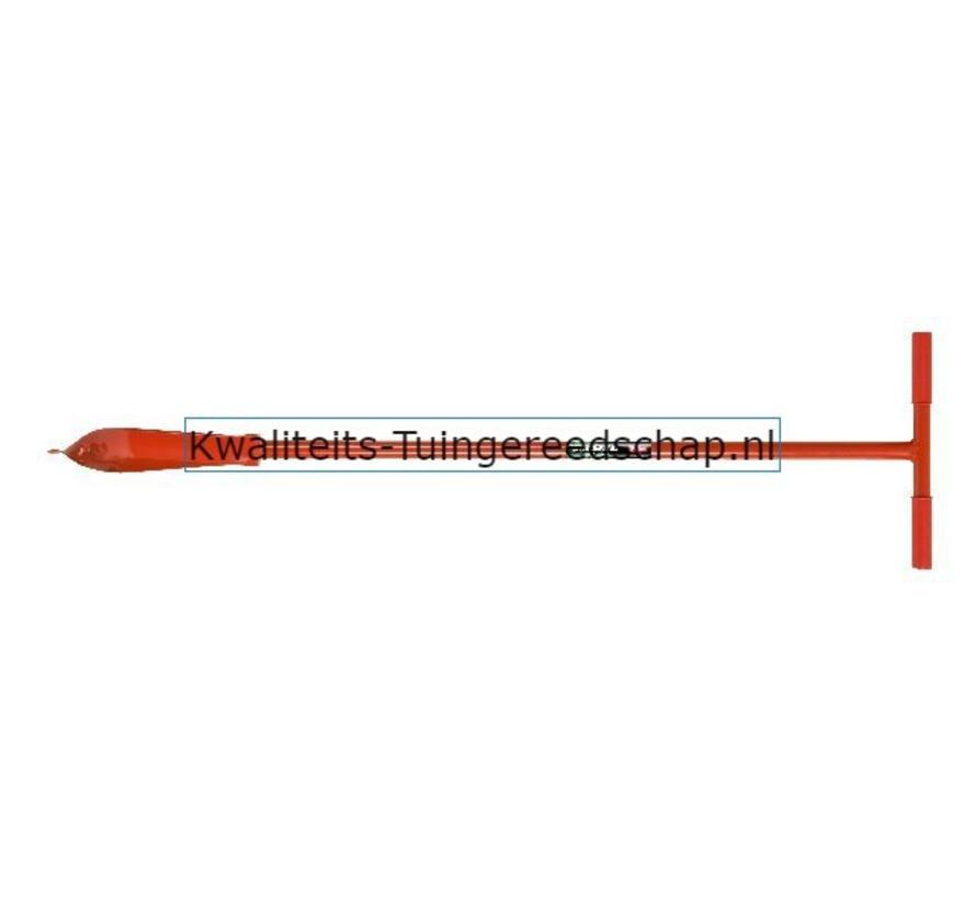 Spiraalboor 150 mm T-greep  Gesmede Grondboor