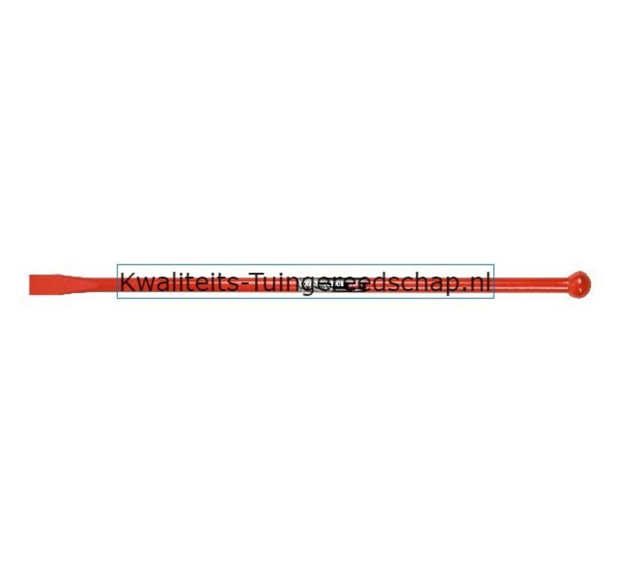 Hefboom/Stootijzer Bol/Beitel 1,00 m x 28 mm