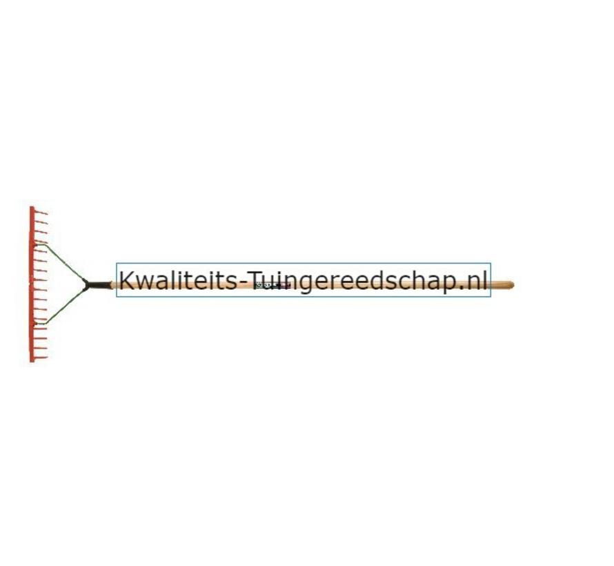 GAZONHARK POLET 16Tanden/600mm KUNSTSTOF MET STEEL