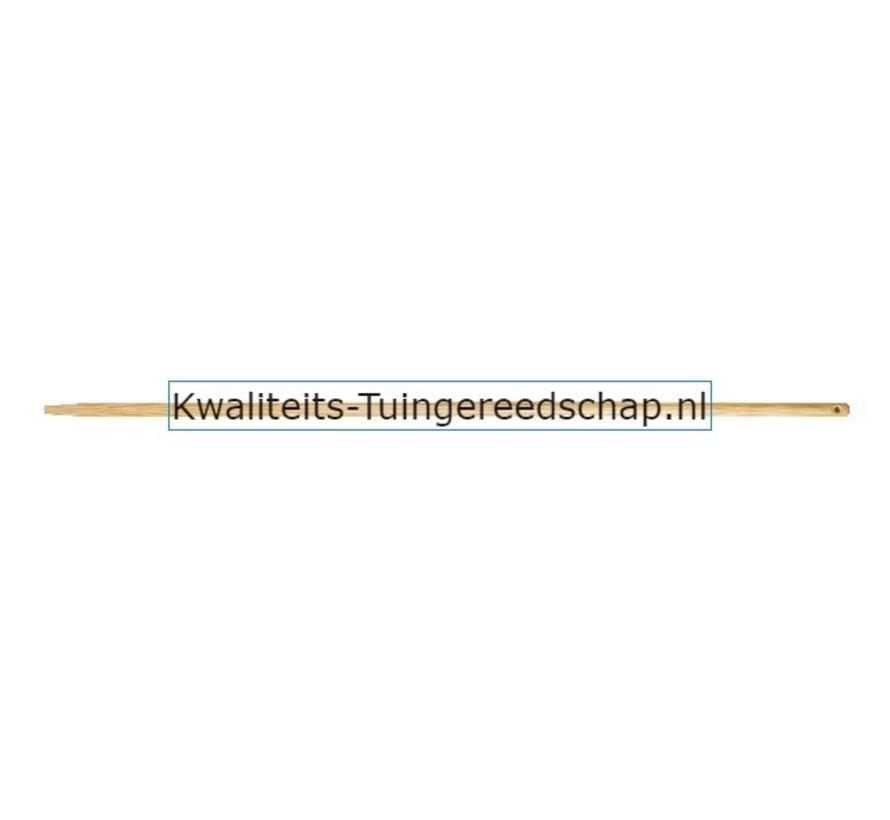 Raaksteel/harksteel/schoffelsteel 1600/28 Gepunt Vernist