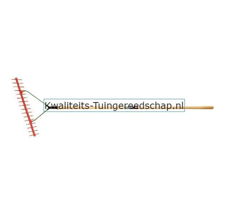 Hooirijf/Hooihark Kunststof 16 Tanden 500 mm met Steel