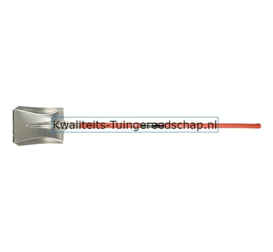 Ballastschop Aluminium 340 x 280 mm met  Fiber Steel